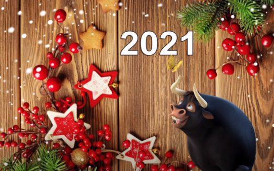 Встречаем 2021-й!